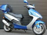 高品質な150ccエンジン搭載、力強いエンジンパワーと燃費向上のベストなバランスを瞬時に導き出す。人気急上昇150ccスクーター!150cc二輪バイク、優れた燃費性能を備えているHL150-3CBLS