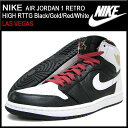 【20%OFF】【送料無料】【LAS VEGAS】NIKE AIR JORDAN 1 RETRO HIGH RTTG Black/Gold/Red/White...