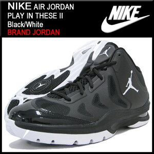 【送料無料】【10%OFF】【BRAND JORDAN】NIKE JORDAN PLAY IN THESE II Black/White BRAND JORD...