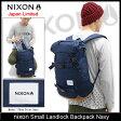 ニクソン nixon リュック スモール ランドロック バックパック ネイビー 日本限定(nixon Small Landlock Backpack Navy Japan Limited Bag バッグ Daypack デイパック 普段使い 通勤 通学 旅行 メンズ レディース ユニセックス 男女兼用 NC2256307)