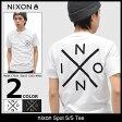 ニクソン nixon Tシャツ 半袖 メンズ スポット(nixon Spot S/S Tee ティーシャツ T-SHIRTS カットソー トップス メンズ 男性用 NS2615) ice filed icefield