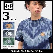 ディーシーDCTシャツ半袖メンズシングルスター2タイダイ(dcSingleStar2TieDyeS/STeeティーシャツT-SHIRTSカットソートップスメンズ男性用ADYZT04036)icefiledicefield