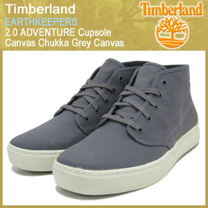 【15%OFF】Timberland EARTHKEEPERS 2.0 ADVENTURE Cupsole Canvas Chukka Grey Canvas【5066R...