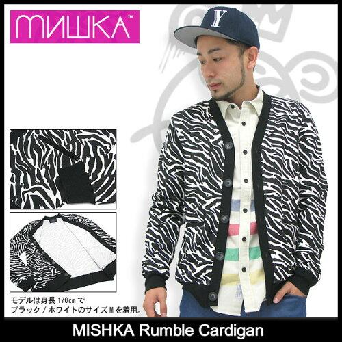 ミシカ MISHKA ランブル カーディガン(mishka Rumble Cardigan カーディガン トップス メンズ 男性...