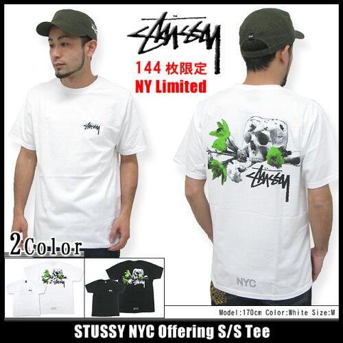 ステューシー STUSSY NYC Offering Tシャツ 半袖 NY限定(stussy tee ティーシャツ T-SHIRTS トップ...
