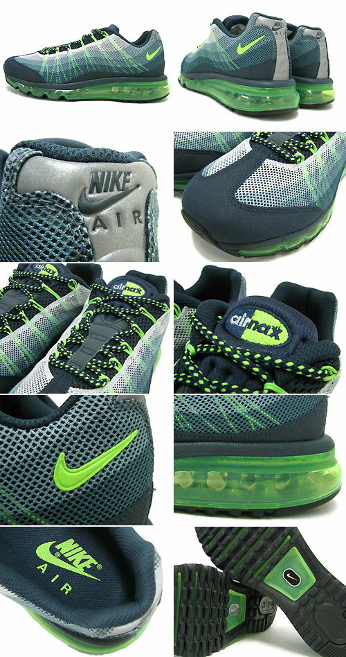 Nike NIKE sneakers Air Max 95 2013 DYN FW Armory NavyFlash LimeDark Armory Blue limited men's (for the man) (nike AIR MAX 95 2013 DYN FW EX Sneaker