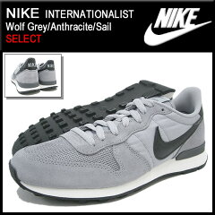 【20%OFF】【SELECT】NIKE INTERNATIONALIST Wolf Grey/Anthracite/Sail SELECTナイキ NIKE ス...