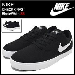 【10%OFF】【SB】NIKE CHECK CNVS Black/White SBナイキ NIKE スニーカー チェック キャンバス ...
