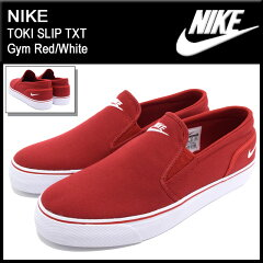 ナイキ NIKE スニーカー トキ スリップ TXT Gym Red/White メンズ(男性用) (nike TOKI SLIP TXT スリッポン Sneaker MENS・靴 シューズ SHOES スニーカ 724762-610) ice filed icefield