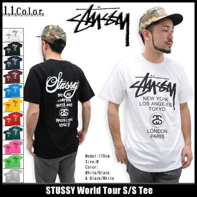 ステューシー Tシャツ STUSSY World Tour S/S Teeステューシー STUSSY World Tour Tシャツ 半袖...