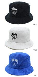 ステューシーSTUSSYバケットハットTerryStockLockBucketHat帽子(stussyhatメンズ・男性用132670ストゥーシースチューシー)icefiledicefield