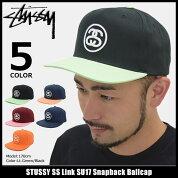 ステューシーSTUSSYキャップ帽子SSLinkSU17SnapbackCap(スナップバックメンズ・男性用131704131695ストゥーシースチューシー)icefiledicefield