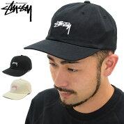 ステューシーSTUSSYキャップ帽子SmoothStockLowCap(ローキャップストラップバックメンズ・男性用131718ストゥーシースチューシー)icefiledicefield