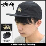 ステューシーSTUSSYキャップ帽子StockLogoCampCap(キャンプキャップメンズ・男性用132869ストゥーシースチューシー)icefiledicefield