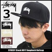 ステューシーSTUSSYキャップ帽子StockFA17SnapbackCap(スナップバックメンズ・男性用131745ストゥーシースチューシー)icefiledicefield