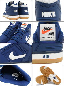 ナイキNIKEスニーカーメンズ男性用エアフォース2ローCoastalBlue/Sail/Obsidian限定(nikeAIRFORCEIILOWNSCOREブルー青SNEAKERMENS・靴シューズSHOES305602-400)icefiledicefield05P19Dec15