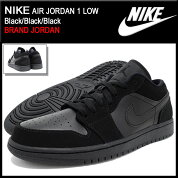 �ʥ���NIKE���ˡ�������������ѥ������硼����1�?Black/Black/Black(nikeAIRJORDAN1LOWBRANDJORDAN�֥�å���SNEAKERMENS�������塼��SHOES553558-025)icefiledicefield