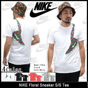 ナイキNIKEフローラルスニーカーTシャツ半袖(nikeFloralSneakerS/STeeティーシャツT-SHIRTSトップスメンズ男性用666430)icefiledicefield
