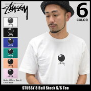 【6/26入荷予定】ステューシーSTUSSYTシャツ半袖メンズ8BallStock(stussyteeティーシャツT-SHIRTSカットソートップスメンズ・男性用1904059ストゥーシースチューシー)icefiledicefield