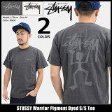 ステューシー STUSSY Tシャツ 半袖 メンズ Warrior Pigment Dyed(stussy tシャツ tee ティーシャツ T-SHIRTS カットソー トップス メンズ 1904127 ストゥーシー スチューシー)[M便 1/1] ice filed icefield
