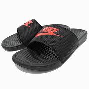 ナイキNIKEサンダルレディース&メンズベナッシJDIBlack/ChallengeRed(nikeBENASSIJDIシャワーサンダルスポーツサンダルブラック黒SANDALLADIESMENS・靴シューズSHOES343880-060)icefiledicefield