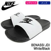 ナイキNIKEサンダルレディース&メンズベナッシJDIWhite/Black(nikeBENASSIJDIシャワーサンダルスポーツサンダルホワイト白SANDALLADIESMENS・靴シューズSHOES343880-100)icefiledicefield