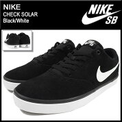 �ʥ���NIKE���ˡ��������������SB�����å������顼Black/WhiteSB(nikeSBCHECKSOLARSB�֥�å���SNEAKERMENS�������塼��SHOES843895-001)icefiledicefield