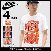 ナイキNIKETシャツ半袖メンズヴィンテージシューボックス(nikeVintageShoeboxS/STeeティーシャツT-SHIRTSカットソートップスメンズ男性用メンズ男性用834637)icefiledicefield
