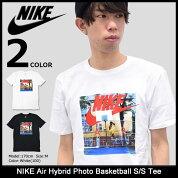 ナイキNIKETシャツ半袖メンズエアハイブリッドフォトバスケットボール(nikeAirHybridPhotoBasketballS/STeeティーシャツT-SHIRTSカットソートップスメンズ男性用847534)icefiledicefield