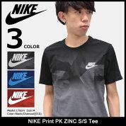 ナイキNIKETシャツ半袖メンズプリントPKZINC(nikePrintPKZINCS/STeeティーシャツT-SHIRTSカットソートップスメンズ男性用847658)icefiledicefield