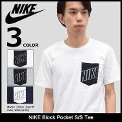 ナイキNIKETシャツ半袖メンズブロックポケット(nikeBlockPocketS/STeeティーシャツT-SHIRTSカットソートップスメンズ男性用779707)icefiledicefield