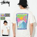 ステューシー STUSSY Tシャツ 半袖 メンズ Horizon Pigment Dyed(stussy tee ピグメント ティーシャツ T-SHIRTS カットソー トップス メンズ 男性用 1904238 USAモデル 正規 品 ストゥーシー スチューシー)[M便 1/1]