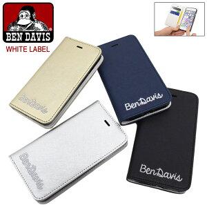 ef84633a4f ベンデイビス BEN DAVIS アイフォン7ケース レザー マグネット タイプ ホワイトレーベル(BENDAVIS BDW-