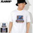 エクストララージ X-LARGE Tシャツ 半袖 メンズ ドラッグ ラグ(x-large Drug Rug S/S Tee ティーシャツ T-SHIRTS カットソー トップス ..