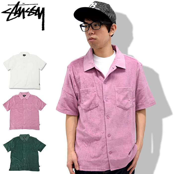 トップス, カジュアルシャツ  STUSSY Reverse Terry ( stussy shirt 114991 USA )
