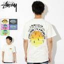 ステューシー STUSSY Tシャツ 半袖 メンズ LSD Sunset Pigment Dyed(stussy tee ピグメント ティーシャツ T-SHIRTS カットソー トップス メンズ 男性用 1904202 USAモデル 正規 品 ストゥーシー スチューシー)[M便 1/1]