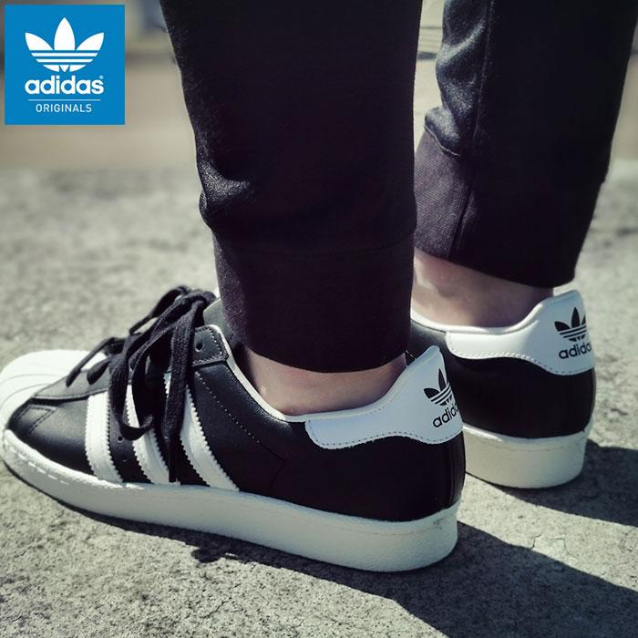 メンズ靴, スニーカー  adidas 80s BlackWhiteChalk ( adidas SUPER STAR 80s Vintage Originals SNEAKER MENS SHOES G61069 ) ice filed icefield