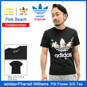 ���ǥ��������ꥸ�ʥ륹×�ե���롦�����ꥢ�ॹadidasOriginals=PHARRELLWILLIAMST�����Ⱦµ���PW�ե������(adidas×PharrellWilliamsPWFlowerS/STeeW�͡���PinkBeach�ƥ��������T-SHIRTS���åȥ����ȥåץ�S95823)