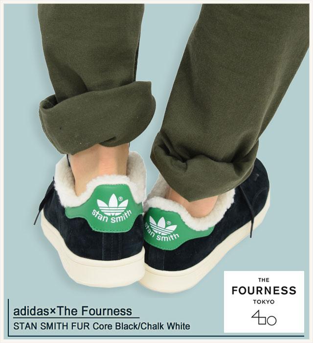 adidas スニーカー ファー