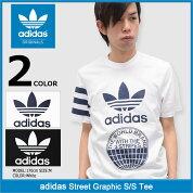 アディダスadidasTシャツ半袖メンズストリートグラフィックオリジナルス(adidasStreetGraphicS/STeeOriginalsティーシャツT-SHIRTSカットソートップスメンズ男性用BP8892BP8893)icefiledicefield