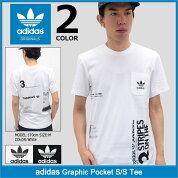 アディダスadidasTシャツ半袖メンズグラフィックポケットオリジナルス(adidasGraphicPocketS/STeeOriginalsティーシャツT-SHIRTSカットソートップスメンズ男性用BQ3036BQ3034)icefiledicefield
