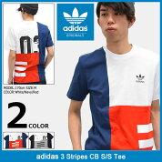 アディダスadidasTシャツ半袖メンズ3ストライプスCBオリジナルス(adidas3StripesCBS/STeeOriginalsティーシャツT-SHIRTSカットソートップスメンズ男性用BQ3045BQ3046)icefiledicefield