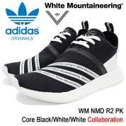 アディダスオリジナルス×WhiteMountaineeringadidasOriginalsbyWhiteMountaineeringスニーカーメンズ男性用WMノマドR2PKCoreBlack/White/Whiteコラボ(WMNMDR2PKホワイトマウンテニアリングブラック黒靴シューズSHOESCG3648)