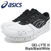 アシックスasicsスニーカーメンズ男性用ゲルライト3Black/Black/White(ASICSTigerアシックスタイガーGEL-LYTEIIIランニンシューズブラック黒SNEAKERMENS・靴シューズSHOESH6T1L-9090)icefiledicefield