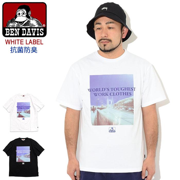 トップス, Tシャツ・カットソー  BEN DAVIS T ( BENDAVIS BDZ1-0008 Worlds Toughest SS Tee WHITE LABEL T-SHIRTS )M 11 ice field icefield