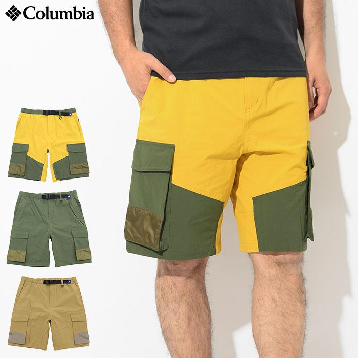 コロンビア Columbia ハーフパンツ メンズ ホースシュー パインズ ショーツ ( columbia Horseshoe Pines Short クライミングパンツ ショートパンツ ハーパン ボトムス メンズ 男性用 Colombia Colonbia Colunbia PM4950 )