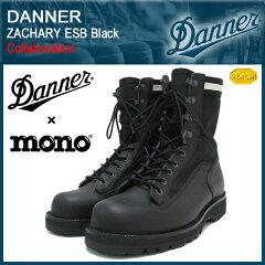【40%OFF&送料無料】【コラボ】Danner×mono magazine ZACHARY ESB Black【D-3004-BK】【送料...