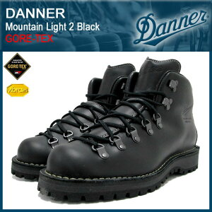 【40%OFF&送料無料】【ゴアテックス】Danner Mountain Light 2 Black GORE-TEX【30860X】【送...