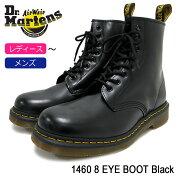 ドクターマーチンDr.Martensブーツ8ホールレディース&メンズ14608アイブーツブラック(DR.MARTENS14608EYEBOOTBlack8ホールドクターマーチンBOOTSドクター・マーチンレースアップブーツ靴・ブーツR11822006)