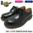 ドクターマーチン Dr.Martens ブーツ 3ホール レディース & メンズ 1461 3アイ ギブソン シューズ ブラック(DR.MARTENS 1461 3 EYE GIBSON SHOE Black 3ホール ドクター マーチン BOOTS ドクター・マーチン マーティン ワーク ブーツ 靴・ブーツ R11838002)